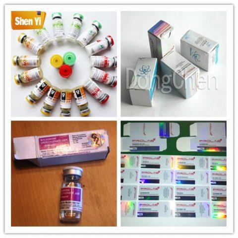 High-grade self-adhesive 10ml vial labels